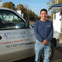 For a Ductless AC installation or repair estimate in Eudora KS, call today for a quote!